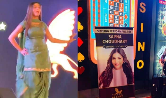 Haryanvi Dancer Sapna Choudhary's Hot And Sexy Thumkas on Chetak, Goli Chal Jawegi, Aankhya Ka Yo Kajal in Goa's Casino Goes Viral, Watch