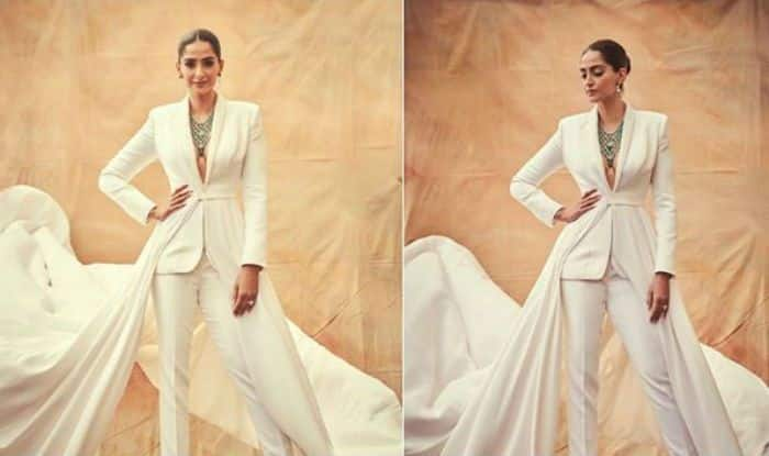 Cannes 2019: Sonam Kapoor in All White Power Suit With A Traditional Twist is Just Classy