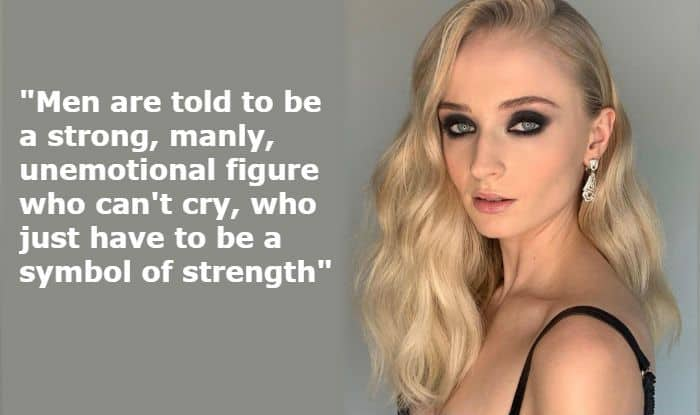 Dark Phoenix Star Sophie Turner Speaks About Men Dealing With Depression And Her Views Are Important
