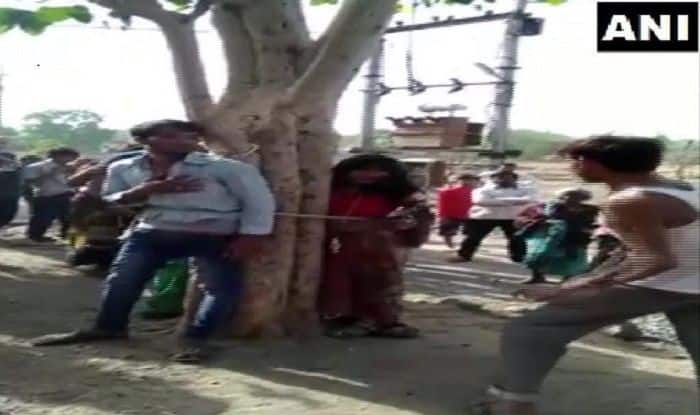 Man Tied to Tree With Kin Who 'Helped Him' Elope, Beaten up For Hours in MP's Dhar