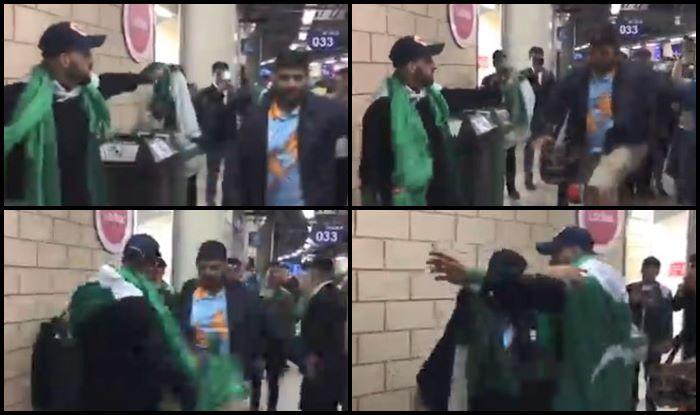India Pakistan Fan Celebrate Win, Fans Dancing, Pakistan beat New Zealand, Pak vs NZ, NZ vs Pak, ICC Cricket World Cup 2019, ICC World Cup 2019, Cricket News, Sarfaraz Ahmed, Birmingham, Edgbaston
