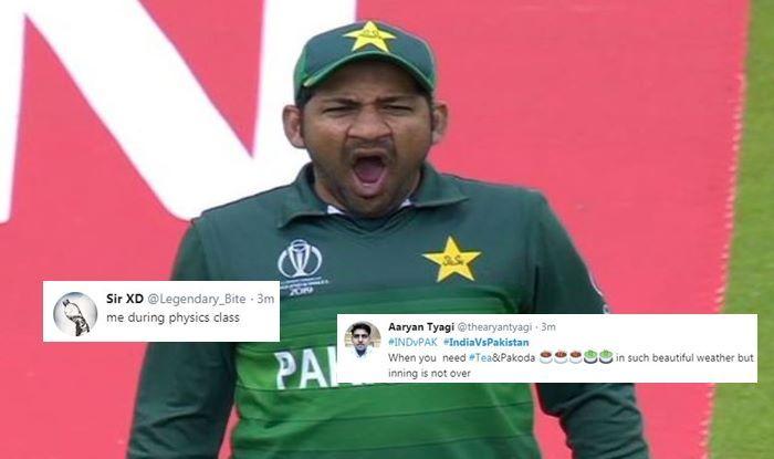 India vs Pakistan, Sarfaraz Ahmed, Sarfraz Ahmed trolled, Sarfraz Ahmed lazy, Ind vs Pak, Manchester, Old Trafford, ICC Cricket World Cup 2019, ICC World Cup 2019, Cricket News, Indian Cricket Team, Team India