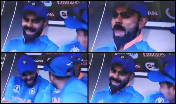 India vs Pakistan, Virat Kohli, Virat Kohli reaction, Sarfraz Ahmed, Kuldeep Yadav, Ind vs Pak, Manchester, Old Trafford, ICC Cricket World Cup 2019, ICC World Cup 2019, Cricket News, Indian Cricket Team, Team India