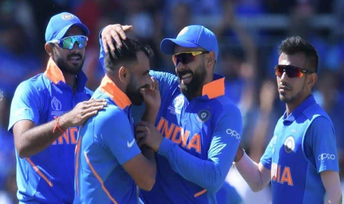 Mohammed Shami, Mohammed Shami wickets, Mohammed Shami speeds, Chris Gayle, Sunil Ambris, Team India, India vs West Indies, Ind vs WI, ICC Cricket World Cup 2019, ICC World Cup 2019, Manchester, Old Trafford, India Win, Michael Vaughan, Shikhar Dhawan, Suresh Raina, Mohammed Kaif, RP Singh, Virendra Sehwag, Cricket News