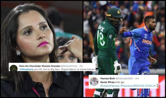 India vs Pakistan, Sania Mirza, Shoaib Malik, Sania Mirza trolled, Ind vs Pak, Manchester, Old Trafford, ICC Cricket World Cup 2019, ICC World Cup 2019, Cricket News, Indian Cricket Team, Team India