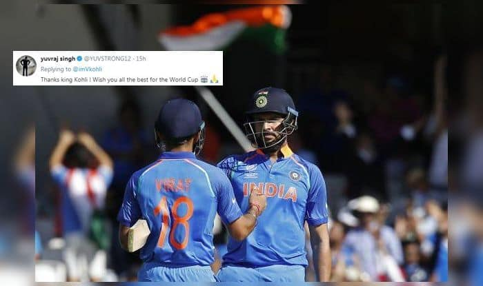 Yuvraj Singh, Virat Kohli, ICC Cricket World Cup 2019, ICC World Cup 2019, Yuvraj Deserves Proper farewell, Yuvraj Singh retires, Yuvraj singh retirement, yuvi retirement, yuvraj singh retirement from international cricket, cancer, cancer treatment, cancer survivor, twitter, fans react, twitter react, Cricket Fans