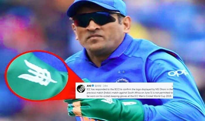ICC, BCCI, MS Dhoni, Army Insignia, ICC Cricket World Cup 2019, ICC World Cup 2019, Balidaan Badge, Ind vs Aus, Aus vs Ind, Cricket News, Indian Cricket Team, Dhoni Gloves