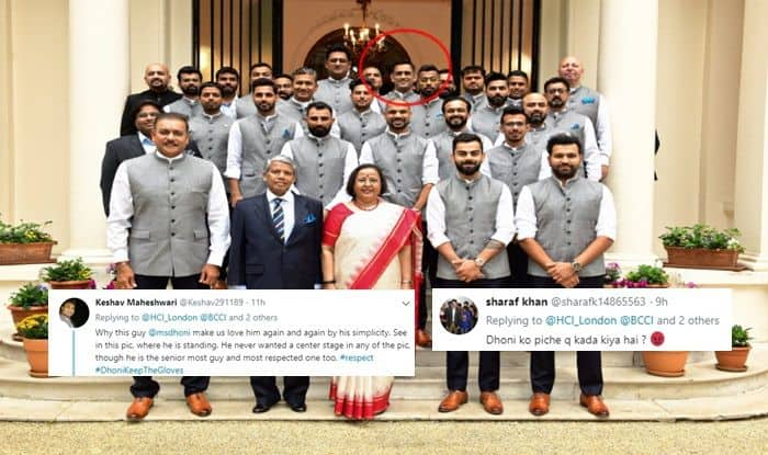 Virat Kohli, MS Dhoni, Dhoni Keep The Gloves, Team India, Ind vs Aus, Aus vs Ind, Cricket News, ICC Cricket World Cup 2019, ICC World Cup 2019, Ruchi Ghanashyam, India vs Australia, India High Commissioner in UK