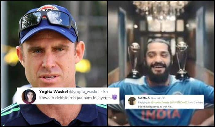 Matthew Hayden, Matthew Hayden trolled, Ind vs Aus, Aus vs Ind, ICC Cricket World Cup 2019, ICC World Cup 2019, Cricket News, Indian Cricket Team, Kennington Oval, Star Sports promo ad