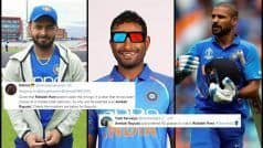 Order 4D Glasses! Rayudu Unnecessarily TROLLED After Pant Replaces Injured Dhawan | POSTS