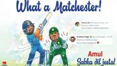 India's Win Against Pakistan in ICC CWC'19 Gets 'Quirky' Amul Twist, Wins Internet | POSTS
