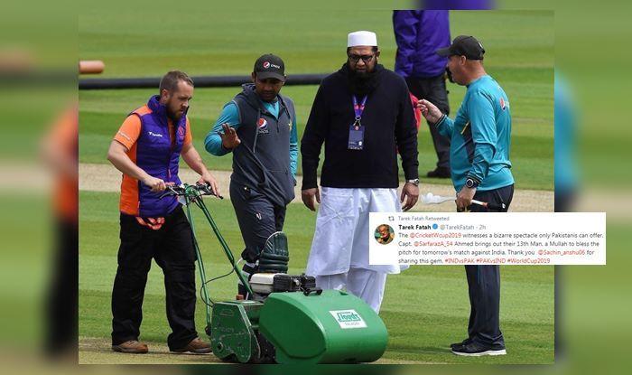 India vs Pakistan, Tarak Fatah, Tarak Fatah trolls Sarfraz Ahmed, Pakistan Cricket Team, Cricket World Cup 2019, ICC Cricket World Cup 2019, ICC World Cup 2019, Sarfraz Ahmed, Sarfaraz Ahmed, Inzamam ul Haq, Pakistan Cricket Team, Tarek Fatah, Cricket News, Pak vs Ind, Ind vs Pak, Manchester, Old Trafford