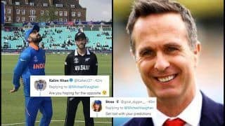 Michael Vaughan Predicts India Will Beat New Zealand in ICC Cricket World Cup 2019 Match at Trent Bridge, Twitter Feel Otherwise | SEE POSTS