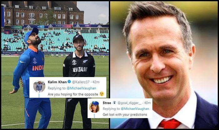 Michael Vaughan, Michael Vaughan trolled, Ind vs NZ, NZ vs Ind, ICC Cricket World Cup 2019, ICC World Cup 2019, Cricket News, Indian Cricket Team, Trent Bridge, Nottingham, rain, forecast, weather