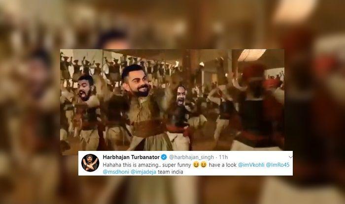 Harbhajan Singh, MS Dhoni, Rohit Sharma, Virat Kohli, Team India, Ind vs Pak, Manchester, Old Trafford, Team India, Cricket News, Viral VIDEO, Team India spoof, Pakistan Cricket Team, India beat Pakistan