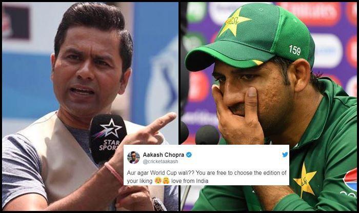 Aakash Chopra, Aakash Chopra TROLLS Pakistan fan, Pak vs Aus, Aus vs Pak, ICC Cricket World Cup 2019, ICC World Cup 2019, Cricket News, Sarfraz Ahmed, Sarfaraz Ahmed