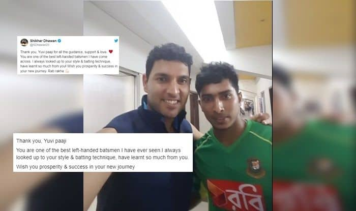 Soumya Sarkar, Shikhar Dhawan, Shikhar Dhawan injury update, ICC Cricket World Cup 2019, Yuvraj Singh, Yuvraj Singh retirement, Cricket news, Bangladesh Cricket Team, Indian Cricket Team