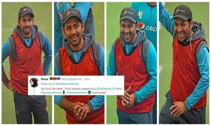 Sarfaraz Ahmed, Sarfaraz Ahmed trolled, Pak vs NZ, NZ vs Pak, ICC Cricket World Cup 2019, ICC World Cup 2019, Pakistan Cricket Team, Pakistan Cricket Team, Cricket News, ICC, Sarfaraz Ahmed Moods, Blackcaps, Kiwis