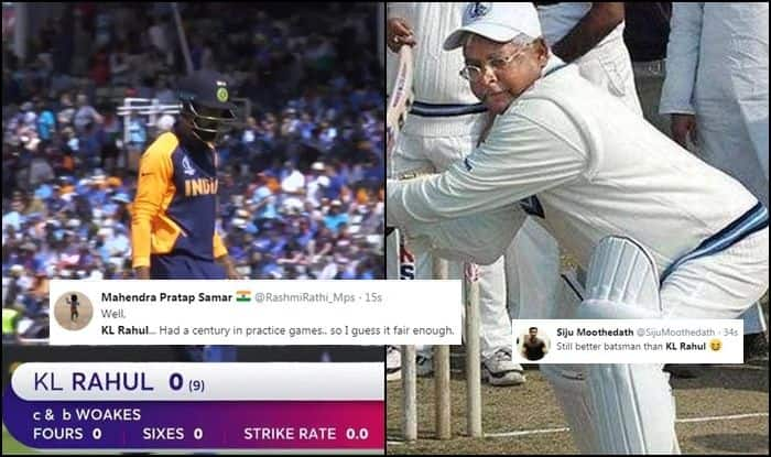 KL Rahul, KL Rahul trolled, Edgbaston, Birmingham, Cricket News, ICC Cricket World Cup 2019, ICC World Cup 2019, Kuldeep Yadav, India vs England, Ind vs Eng, Indian Cricket Team
