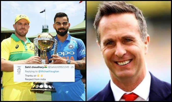 Michael Vaughan, Ind vs Aus, Aus vs Ind, ICC Cricket World Cup 2019, ICC World Cup 2019, Cricket News