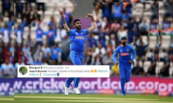 Jasprit Bumrah, Hashim Amla, Quinton De Kock,ICC World Cup 2019,ICC Cricket World Cup 2019, Ind vs SA, SA vs Ind, Ind vs SA, Cricket News