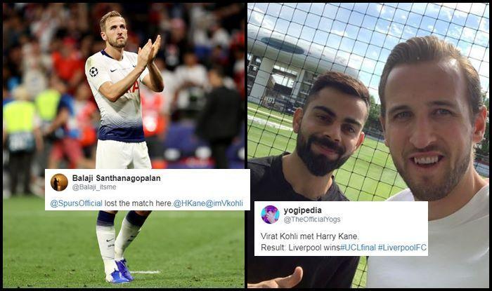 Virat Kohli,Liverpool,Tottenham,UEFA Champions League, Indian Cricket Team, ICC Cricket World Cup 2019, Cricket News, Harry Kane