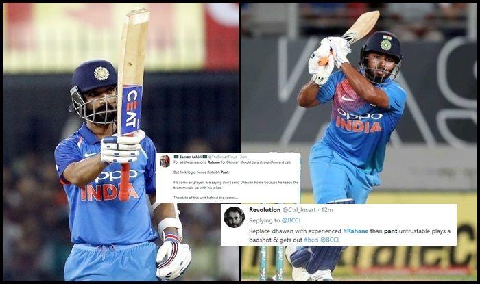 Shikhar Dhawan, Rishabh Pant, Ajinkya Rahane, BCCI, Shikhar Dhawan under observation, Shikhar Dhawan injury, Shikhar Dhawan ruled out of World Cup 2019, ICC World Cup 2019, Indian Cricket Team, Ind vs NZ, Team India, Cricket News
