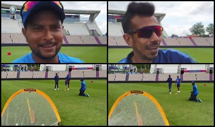 Yuzvendra Chahal, Kuldeep Yadav,ICC World Cup 2019,ICC Cricket World Cup 2019, Ind vs NZ, NZ vs Ind, Indian Cricket team, Team India fielding session, Cricket News