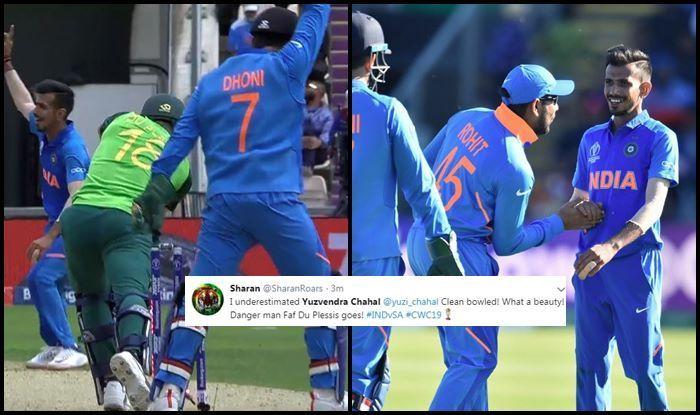 Yuzvendra Chahal, Faf du Plessis, Quinton De Kock,ICC World Cup 2019,ICC Cricket World Cup 2019, Ind vs SA, SA vs Ind, Ind vs SA, Cricket News