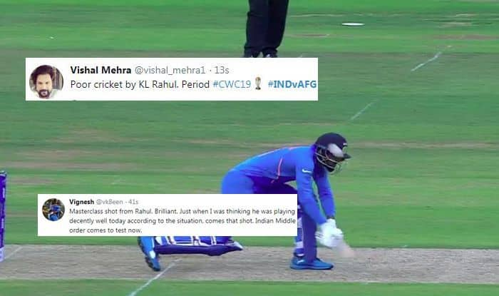 KL Rahul, Mohammad Nabi, KL Rahul trolled, Ind vs Afg, ICC Cricket World Cup 2019, ICC World Cup 2019, Southampton, Rose Bowl, Cricket News