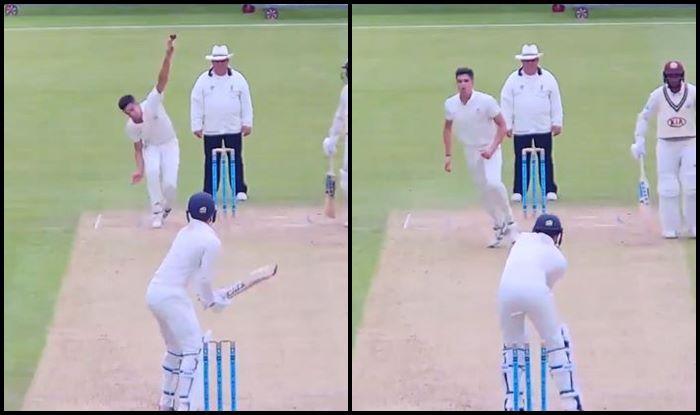 Arjun Tendulkar, Sachin Tendulkar, Arjun Tendulkar age, Arjun Tendulkar bowling, Arjun Tendulkar clean bowls Surrey Batsman, Surrey county 2nd XI, MCC Young Cricketers, Cricket News, Second XI Championship