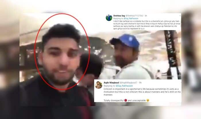 Sarfaraz Ahmed, Sarfaraz Ahmed trolled, Sarfaraz Ahmed body-shamed, India vs Pakistan, Ind vs Pak, Pak vs Ind, ICC Cricket World Cup 2019, ICC World Cup 2019, Cricket News, Old Trafford, Manchester, Pakistan fans abuse, Pakistan fans, Pakistan vs South Africa, Pakistani fan trolled, Lords Cricket Ground, Home of Cricket
