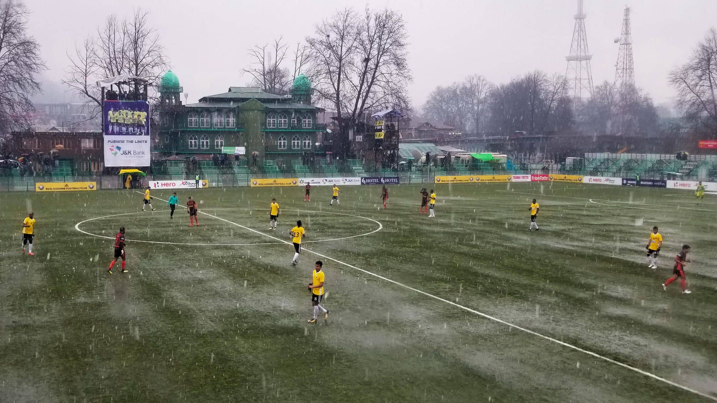 Jammu & Kashmir Get First Football Stadium With Floodlights