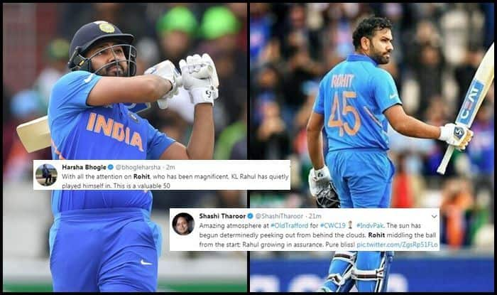 India vs Pakistan, Ind vs Pak, Pak vs Ind, Rohit Sharma, Rohit Sharma century, Rohit Sharma 24th century, Rohit Sharma records, ICC Cricket World Cup 2019, ICC World Cup 2019, Cricket News, Old Trafford, Manchester, Rohit Sharma, KL Rahul, Indian Cricket team, Pakistan Cricket Team