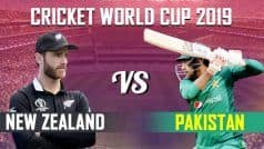 NZ vs PAK LIVE: NZ Win Toss To Bat First, Match Will Start at 4 PM