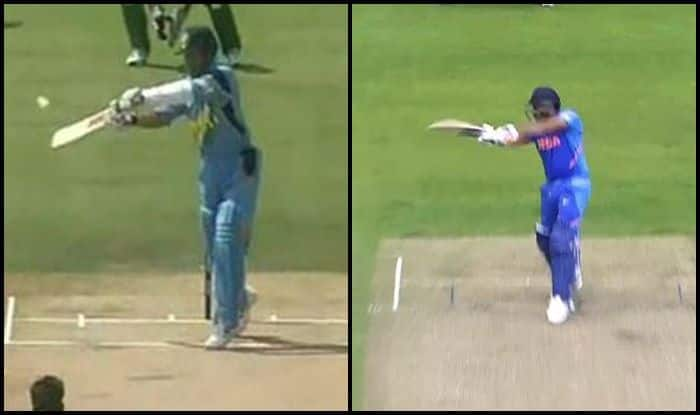 India vs Pakistan, Ind vs Pak, Pak vs Ind, Rohit Sharma, Rohit Sharma century, Rohit Sharma 24th century, Rohit Sharma records, Rohit Sharma six, Sachin Tendulkar, Sachin Tendulkar six, ICC Cricket World Cup 2019, ICC World Cup 2019, Cricket News, Old Trafford, Manchester, Rohit Sharma, Indian Cricket team, Pakistan Cricket Team, Sachin Tendulkar-Rohit Sharma