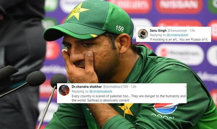 Aakash Chopra, Aakash Chopra TROLLS Pakistan, Pak vs Aus, Aus vs Pak, ICC Cricket World Cup 2019, ICC World Cup 2019, Cricket News, Sarfraz Ahmed, Sarfaraz Ahmed