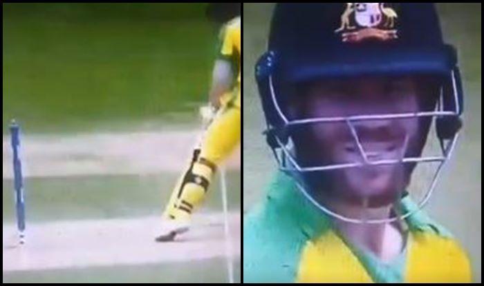 David Warner, Zing bail, Ind vs Aus, Aus vs Ind, ICC Cricket World Cup 2019, ICC World Cup 2019, Cricket News, Kennington Oval, London, Bails