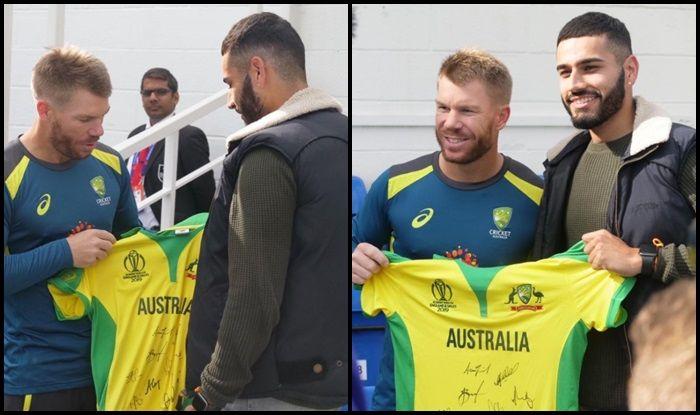 David Warner, David Warner gesture, David Warner runs, Aus vs SL, SL vs Aus, ICC Cricket World Cup 2019, ICC World Cup 2019, Kennington Oval, Cricket News, rain, weather forecast