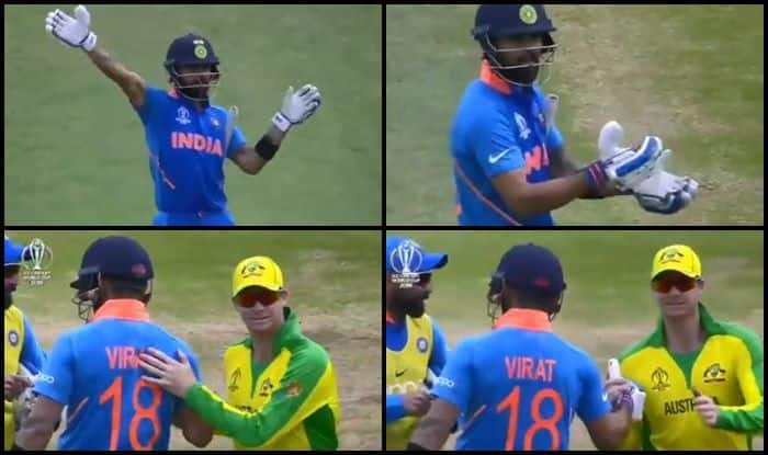 Virat Kohli, Virat Kohli records, Steve Smith, Steve Smith Booed, Ind vs Aus, Aus vs Ind, ICC Cricket World Cup 2019, ICC World Cup 2019, Cricket News, Team India, Indian Cricket Team, Spirit of Cricket, ICC, Kennington Oval