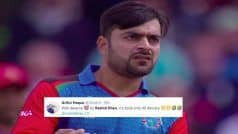Maiden Century! Rashid Khan TROLLED For Most Expensive Spell in CWC History | POSTS