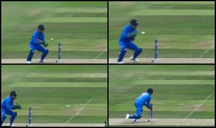 MS Dhoni, Andile Phelukwayo,MS Dhoni stumping, ICC World Cup 2019, ICC Cricket World Cup 2019, Ind vs SA, SA vs Ind, Indian Cricket Team, South African Cricket Team, Cricket News