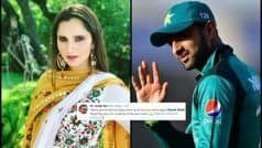 'Thank You Malik': Sania Unnecessarily TROLLED After PAK Win   POSTS