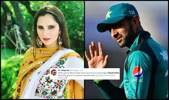 Sania Mirza, Sania Mirza trolled, fans thank Shoaib Malik, Shoaib Malik trolled, Pakistan beat New Zealand, Pak vs NZ, NZ vs Pak, ICC Cricket World Cup 2019, ICC World Cup 2019, Cricket News, Sarfaraz Ahmed, Birmingham, Edgbaston