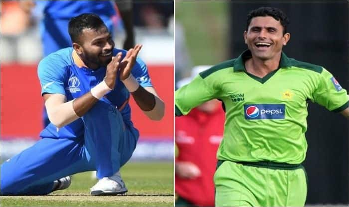 Abdul Razzaq, Hardik Pandya, Razzaq offers to coach Pandya, ICC Cricket World Cup 2019, ICC World Cup 2019, Razzaq requests BCCI to allow him to coach Pandya, Abdul Razzaq-Hardik Pandya, Cricket News, Hardik Pandya World Cup, Razzaq on Hardik Pandya, Team India, India vs West Indies, India vs Pakistan