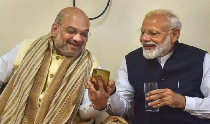Amit Shah iPhone