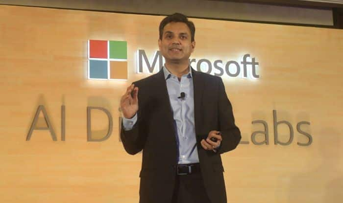 Microsoft India president Anant Maheshwari. Photo Courtesy: IANS