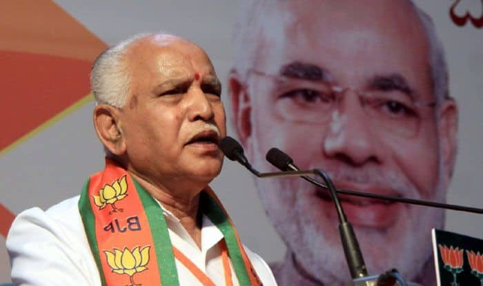 BJP leader BS Yeddyurappa. Photo Courtesy: IANS