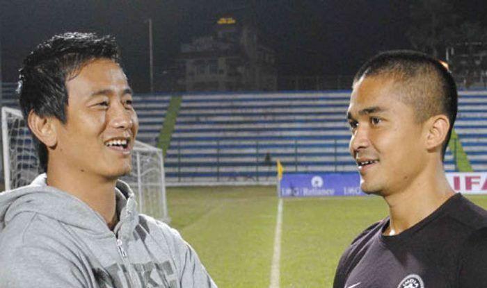 Bhaichung Bhutia Congratulates Sunil Chetri For Becoming Most-Capped Indian Footballer