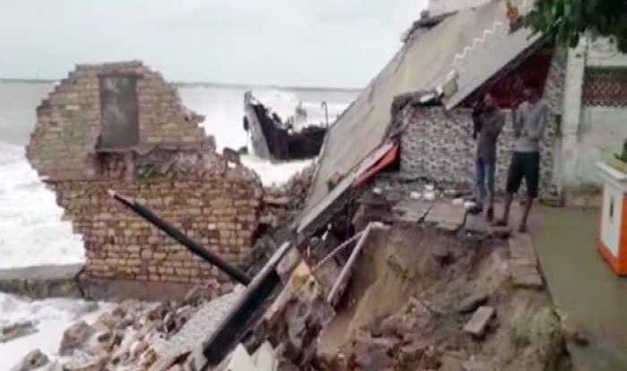 Cyclone Vayu Effect: Portion of Porbandar's Bhuteshwar Mahadev Temple Collapses